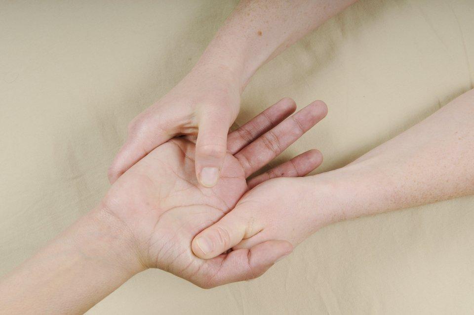 hand helping hand